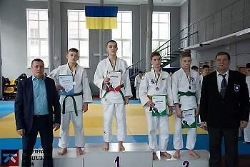 Покровчани знову серед переможців чемпіонату області з дзюдо