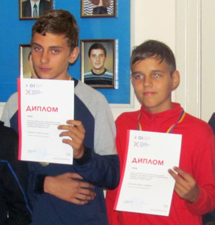 Двом вихованцям авіамодельного гуртка БДТЮ вручені посвідчення Кандидатів у майстри спорту