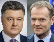 Дональд Туск привітав Петра Порошенка з виходом до другого туру президентських виборів
