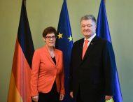 Президент України провів зустріч з Головою Християнсько-демократичного союзу Німеччини