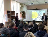 Эффективное производство.  ДТЭК Днепровские электросети показали студентам работу компании изнутри
