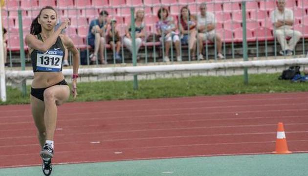 Українка Геращенко перемогла на міжнародних змаганнях з легкої атлетики в Ризі