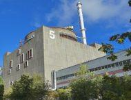 На енергоблоці №5 Запорізької АЕС продовжується реконструкція електротехнічного обладнання