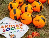 Юные футболисты Никополя получили подарки