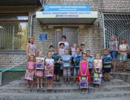 У Нікополі до Дня знань 208 дітей отримали шкільні рюкзаки
