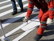 До 1-го сентября возле всех школ Никополя обновят пешеходные переходы.