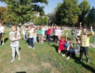 Учні третіх класів школи № 20 розпочали день спартакіадою