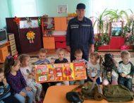 Нікопольським дошкільнятам рятувальники розповіли про правила пожежної безпеки
