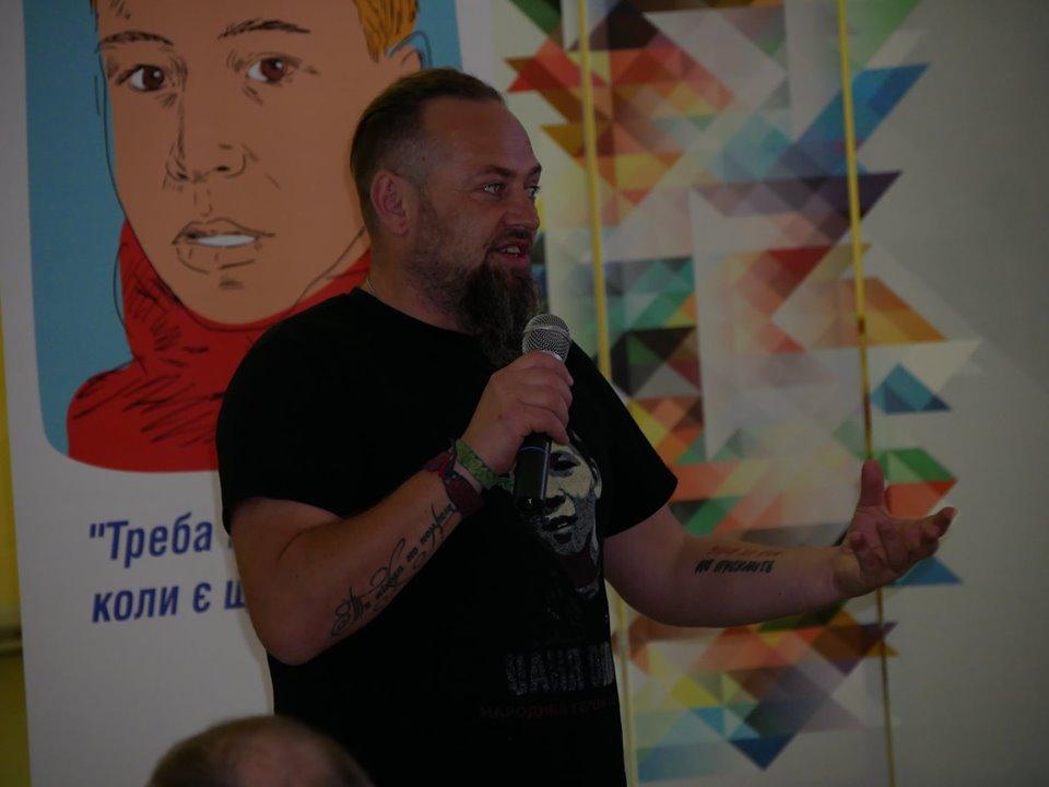 Руслан Горовий презентував у Покрові нову книгу