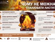 Нікопольцям нагадали про шкідливість спалювання листя