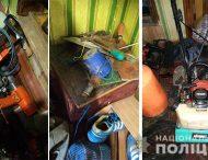 У Нікополі поліцейські затримали серійного крадія з дачних будинків