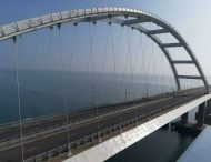 Сеть насмешило фото строительства второго Крымского моста