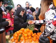 У Марганці відзначили День мандаринів