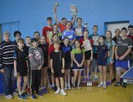 У Нікополі відбувся відкритий Кубок міста з настільного тенісу