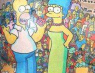 52-летний австралиец сделал 203 татуировки с персонажами из «Симпсонов»
