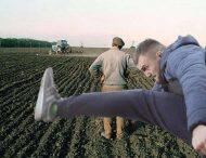 Появилась забавная фотожаба на стычки из-за рынка земли в Украине