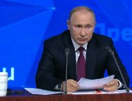 Российские силовики испугались пускать на пресс-конференцию Путина члена «Свидетелей Иеговы»