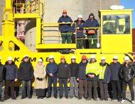 ЗАЕС отримала новий транспортер для сухого сховища відпрацьованого ядерного палива