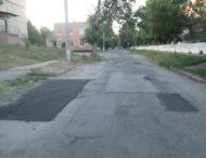 На улице Запорожской ямочный ремонт дороги Мелочь, но приятно.