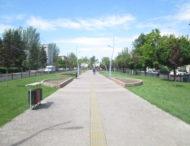 Современный участок аллеи на проспекте Трубников, но один вопрос остался…