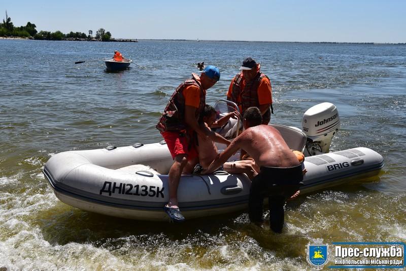 Перевірили роботу рятувальників на міському пляжі