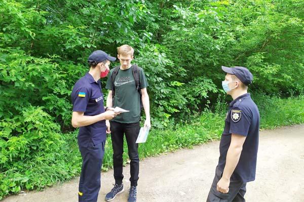 У Марганці рятувальники проводять сумісні рейдові заходи з Національною поліцією в екосистемах