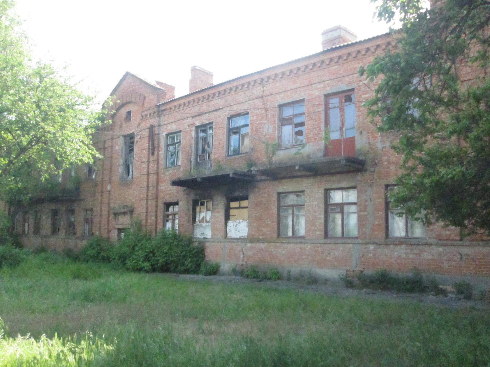 Ещё одно печальное здание Никополя.
