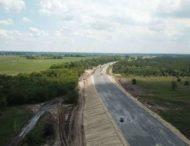 На Дніпропетровщині триває будівництво решетилівської траси (Фото)