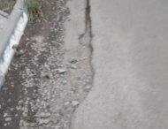 Качество дорог «проверил» дождь.