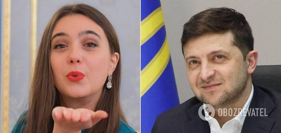 Зеленський заробив у 1,5 рази рази менше, ніж його прессекретарка Мендель .