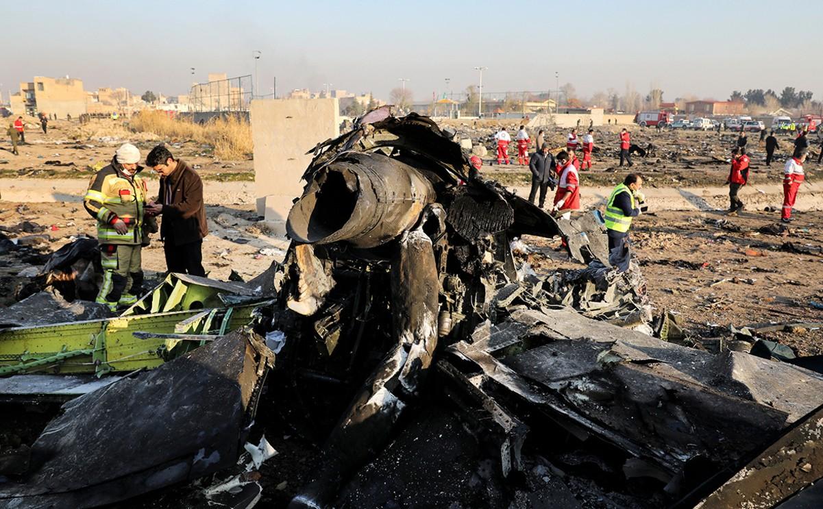 Іран погодився виплатити компенсацію за збитий літак МАУ .