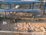 У Нікополі на дитячому майданчику  знайшли тіло загиблого чоловіка.