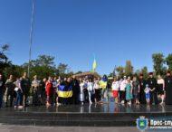 У Нікополі відбулося урочисте покладання квітів з нагоди Дня Незалежності України.