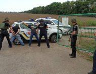 У Нікополі поліцейські охорони провели оперативно-тактичне навчання.
