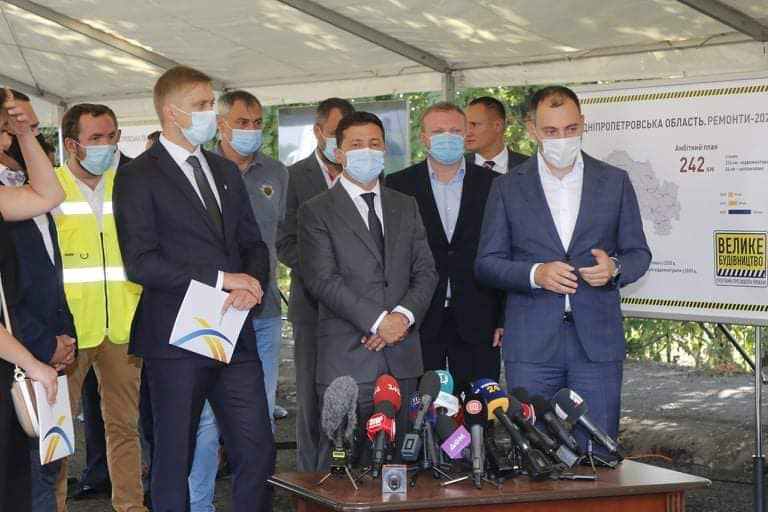 Президент Володимир Зеленський на Дніпропетровщині із робочим візитом.