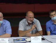 Фахівці Запорізької АЕС провели зустріч у форматі громадських слухань з громадськістю міста Дніпрорудне.