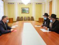 Ігор Жовква зустрівся з головним рабином України та Києва Моше Реувеном Асманом