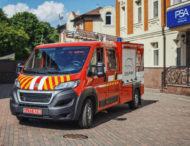 В Украине построили пожарный автомобиль на базе Peugeot Boxer