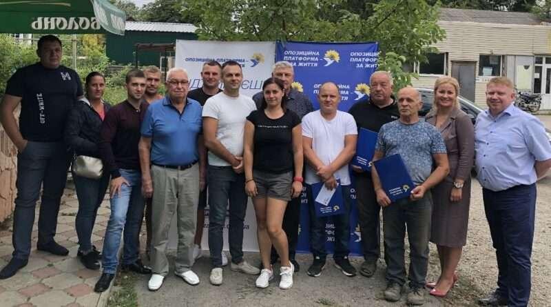 В областную команду ОПЗЖ вливаются жители Солонянского района