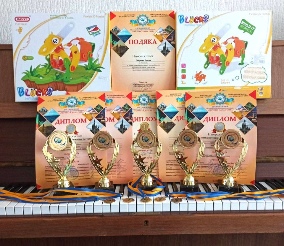 Піаністки з Нікополя отримали перемогу у Міжнародному фестивалі мистецтв .