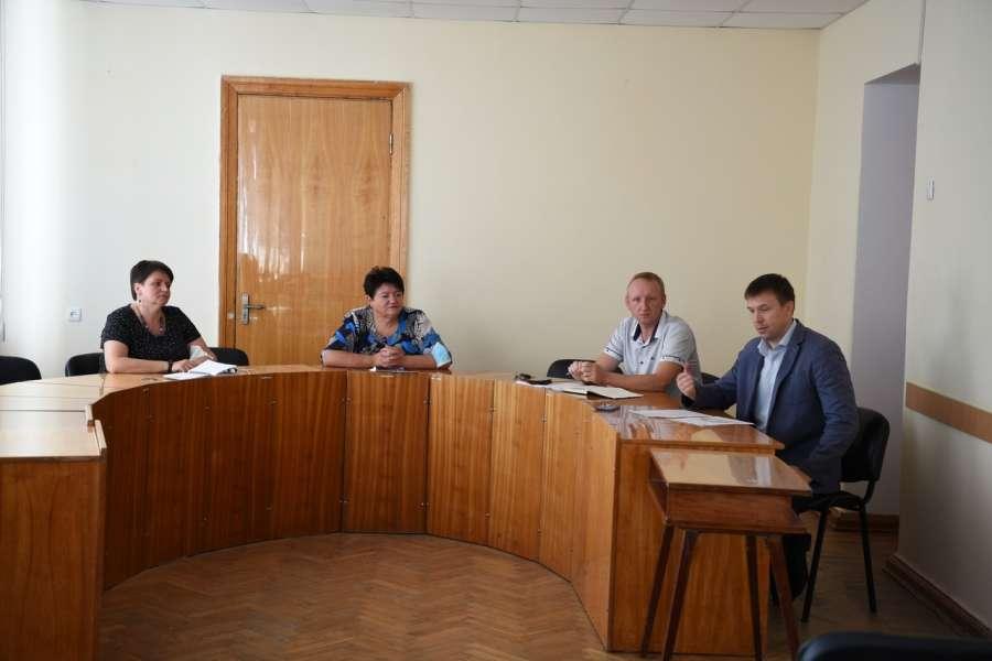 Відбулась робоча нарада з представниками Дніпропетровської  торгово-промислової палати