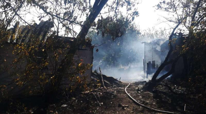 На Дніпропетровщині вогонь наробив лиха (Фото)