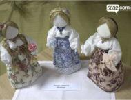На Днепропетровщине открылась выставка уникальных кукол (Фото)