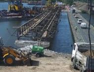 На Дніпропетровщині розпочали ремонт зруйнованого мосту