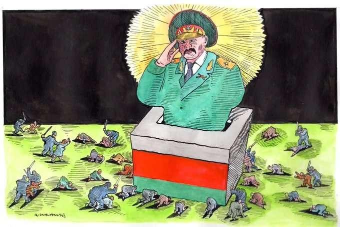В сети появились яркие фотожабы на тему инаугурации Лукашенко