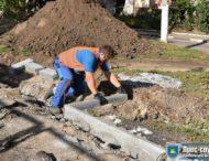 Ремонтні роботи за кошти місцевого бюджету в Нікополі цього тижня
