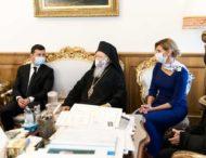 Президент України та перша леді зустрілися зі Вселенським Патріархом Варфоломієм