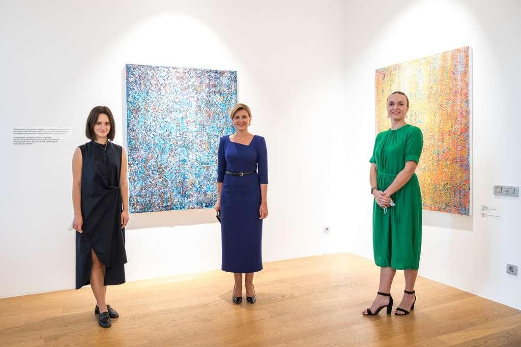 Олена Зеленська відвідала Istanbul Artist Residency, створену українкою у Стамбулі