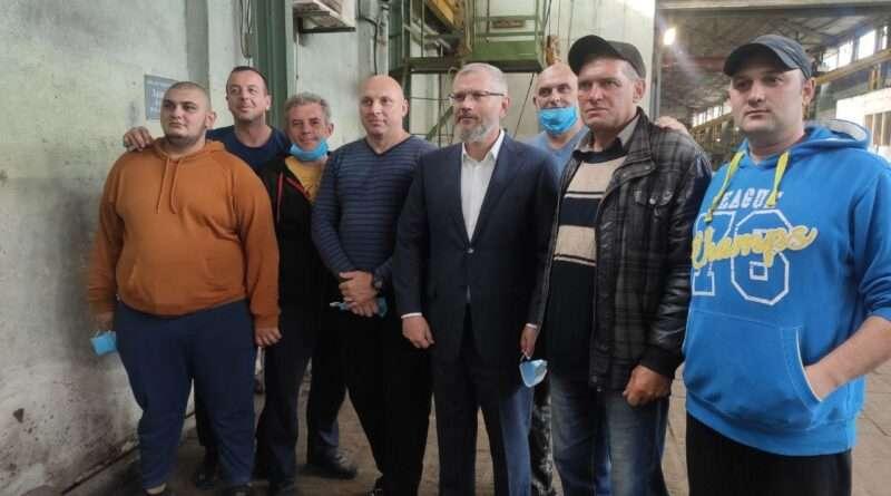 Вилкул: «Блок «Украинская перспектива» обеспечит поддержку сельхозпроизводителей Днепропетровщины»