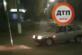 Водитель трижды врезался в дорожный знак